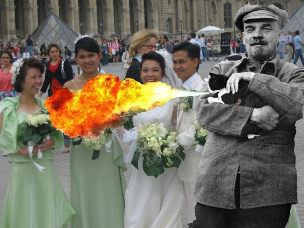 Lenin Wedding